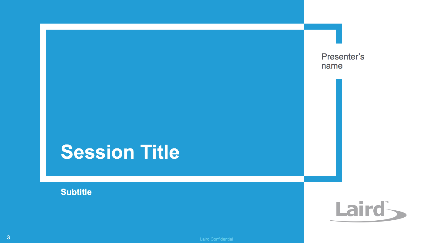 Robust Laird PPT Template