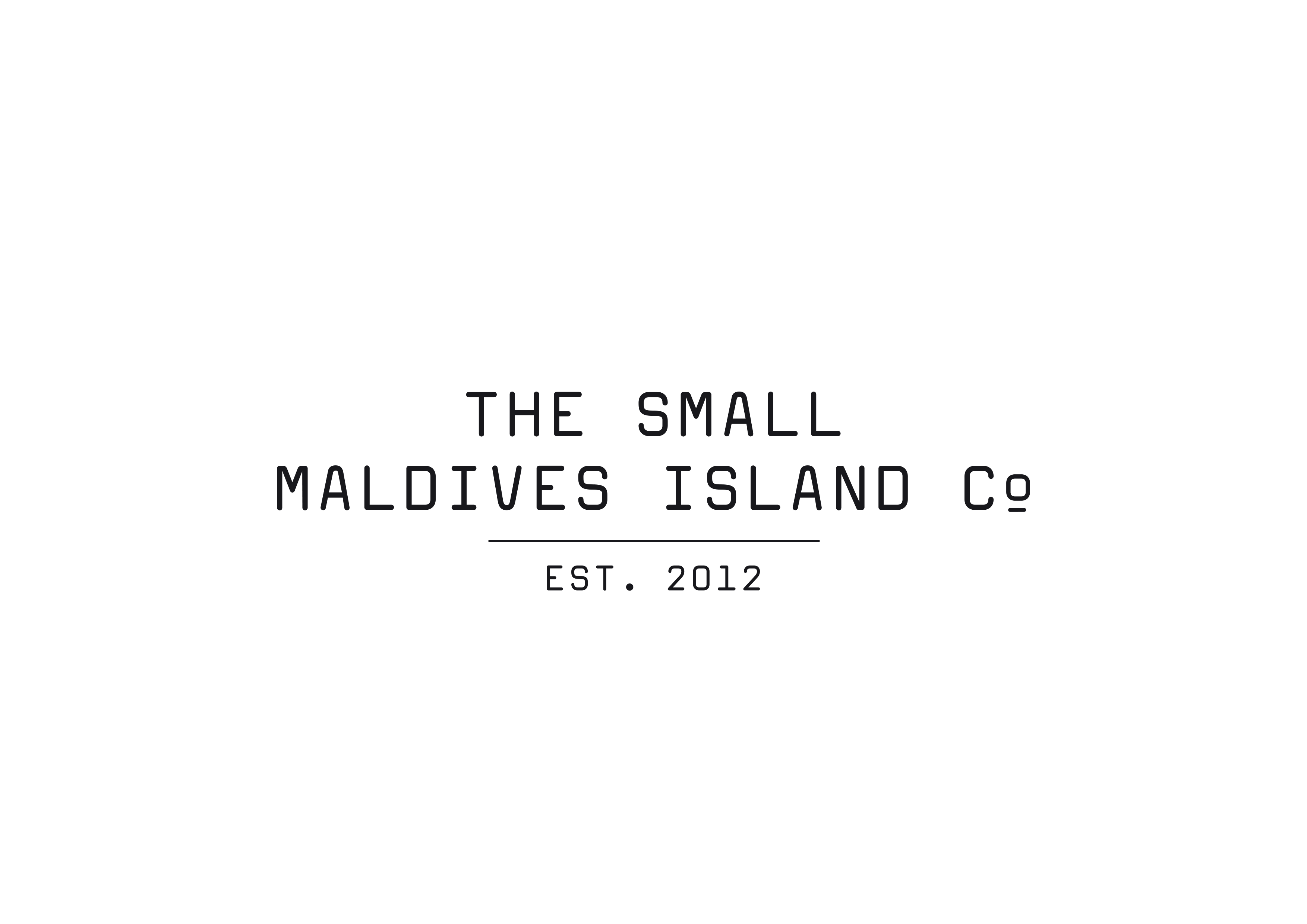 The Small Maldives Island Co Logo
